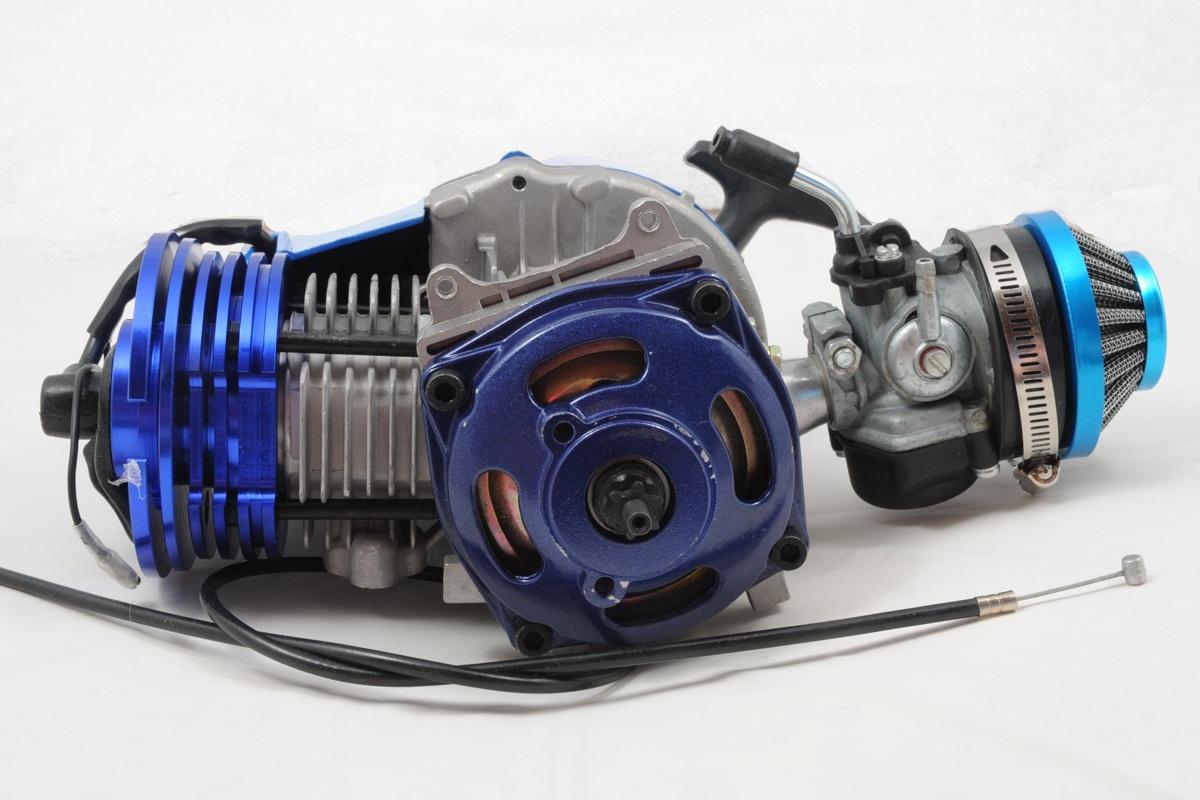 53cc 54cc 2 stroke big bore stage 5 pocket bike engine ebay. Black Bedroom Furniture Sets. Home Design Ideas